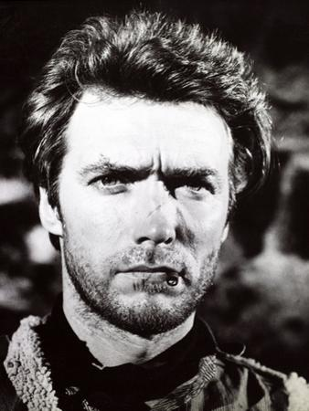 "Clint Eastwood. ""A Fistful of Dollars"" 1964, ""Per Un Pugno Di Dollari"" Directed by Sergio Leone"