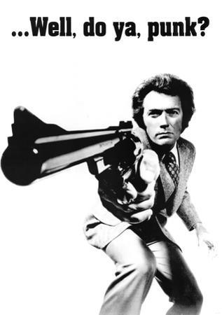 Clint Eastwood (Dirty Harry) Movie Poster