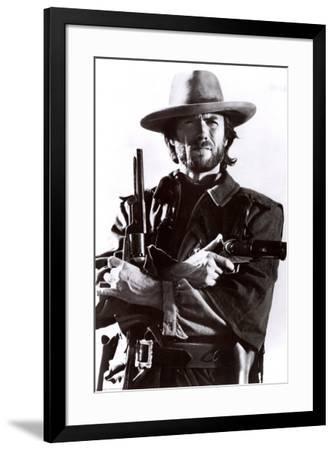Clint Eastwood--Framed Poster