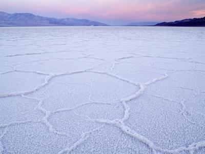 Salt Flats at Badwater, Death Valley National Park, California