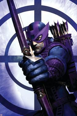 Dark Reign: Hawkeye No.1 Cover: Hawkeye by Clint Langley