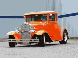 1930 Ford Hot Rod 2 by Clive Branson