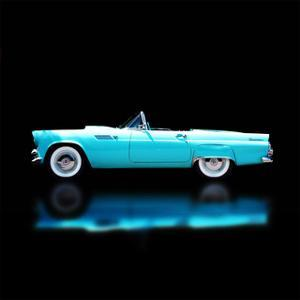 56 T-Bird Convertible by Clive Branson