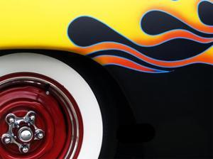 Hot Rod Flames by Clive Branson