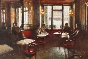Cafe Florian, Venice by Clive McCartney