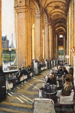 Conversations, Cafe Marley, Paris by Clive McCartney