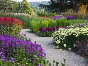 Path in Trentham Gardens by Clive Nichols