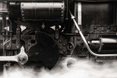 An Old Steam Train by Clive Nolan