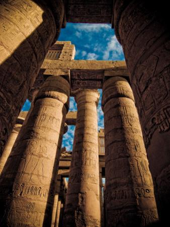 Great Hypostyle Hall at Karnak Temple, Egypt by Clive Nolan