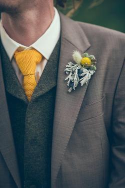 Groom at Wedding by Clive Nolan