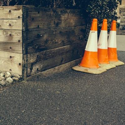 Three Road Cones