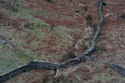 Wall in Remote Location in England
