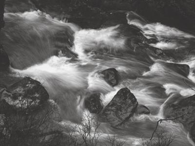 Water Splashing in River