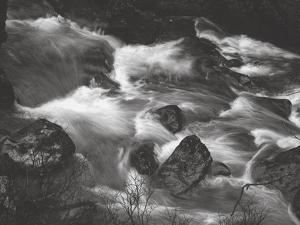Water Splashing in River by Clive Nolan