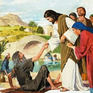 The Miracles of Jesus: Making the Lame Man Walk by Clive Uptton