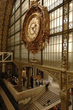 Clock on Gare D'Orsay (1900)