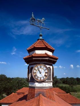 Clock Tower and Weathervane, Longview Farm, Show Horse Barn, Lees Summit, Mo 1914