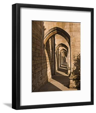 Cloister Arches--Framed Art Print