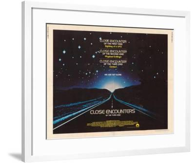 Close Encounters of the Third Kind -  Style--Framed Poster