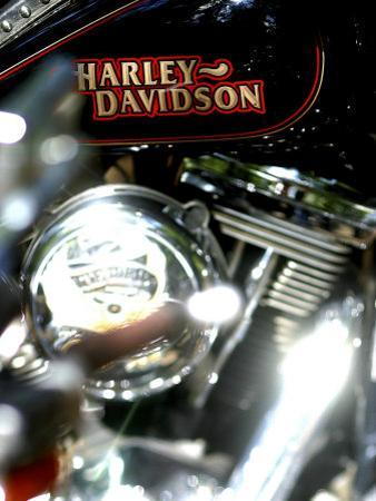 Close-up of a Motorcycle