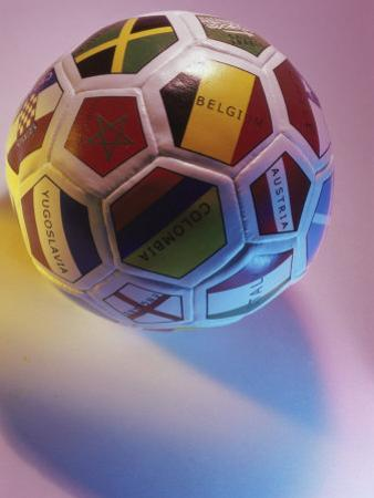 Close-up of a Soccer Ball