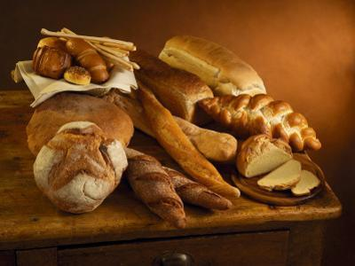 Close-Up of Assorted Breads