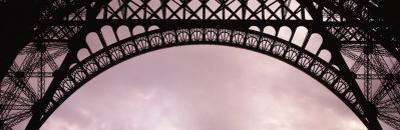 Close Up of Eiffel Tower, Paris, France