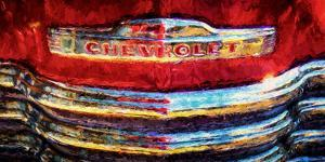 Close-up of Vintage Chevy Truck