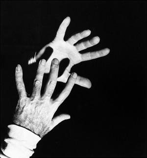 Close-Up Shot of the Hands of Dr. Michael De Bakey