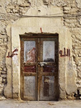 Closed Door of a Building, Syria