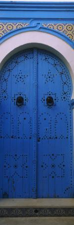 Closed Door of a House, Medina, Sousse, Tunisia