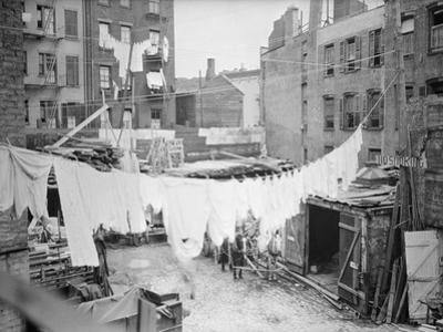 Clothesline and Tenements