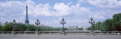 Cloud Over the Eiffel Tower, Pont Alexandre III, Paris, France
