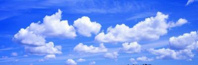 Clouds, Cumulus, Blue Sky
