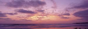 Clouds in the Sky at Sunset, Pacific Beach, San Diego, California, USA