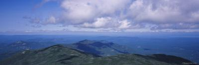 Clouds over a Landscape, Whiteface Mountain, Adirondack Mountains, New York, USA