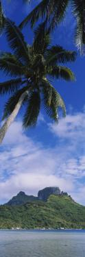Clouds over a Mountain, Bora Bora, French Polynesia