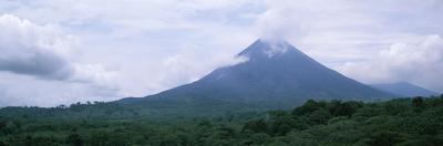 Clouds over a Mountain Peak, Arenal Volcano, Alajuela Province, Costa Rica