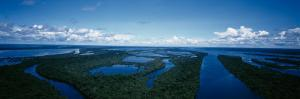 Clouds over a River, Amazon River, Anavilhanas Archipelago, Rio Negro, Brazil
