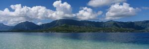 Clouds over an Island, Hana, Maui, Hawaii, USA