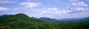 Clouds over Mountains, Adirondack High Peaks, Adirondack Mountains, New York State, USA