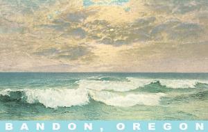 Clouds over Ocean, Bandon, Oregon