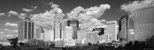 Clouds over Skyscrapers in a City, Charlotte, North Carolina, USA