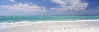 Clouds over the Sea, Lido Beach, St. Armands Key, Gulf of Mexico, Florida, USA