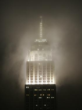 Clouds Roll Past the Empire State Building