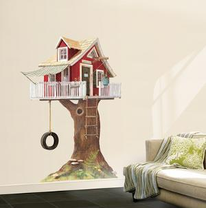 Clubhouse Tree House Wall Decal