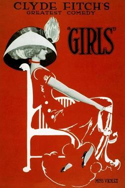 """Clyde Fitch's Greatest Comedy, """"Girls"""""""