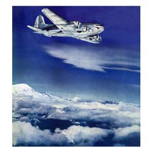 """""""Flight Above Clouds,"""" August 17, 1940 by Clyde H. Sunderland"""