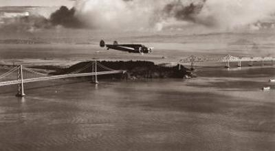 Amelia Earhart in Flight, Oakland to Honolulu, March 17, 1937