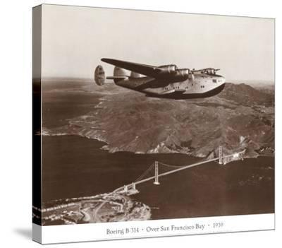 Boeing B-314 over San Francisco Bay, California 1939